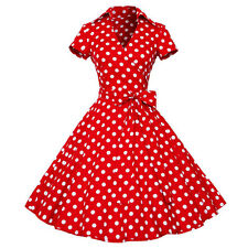 Maggie Tang 50s VTG Retro Pinup Hepburn Party Rockabilly Swing Business Dress