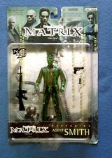 CLEAR AGENT SMITH THE MATRIX 6 INCH FIGURE N2 TOYS WARNER BROTHERS 1999