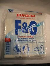 1 (3 PACK) EUREKA VACUUM BAGS F & G #52320B DUST BAG