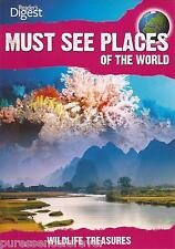 MUST SEE PLACES OF THE WORLD: WILDLIFE TREASURES (Reader's Digest R2 DVD)