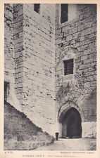 CYPRUS POSTCARD  KYRENIA CASTLE THE FRANKISH GATE HOUSE 1940s