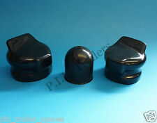 FREE P&P* 2 x Socket Covers & Towball Cover for Caravan Electrics 7 Pin 12N 12S