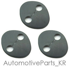 Genuine OEM Door Striker Cover Set 3p for Hyundai 11 12 13 2014 Veloster & Turbo