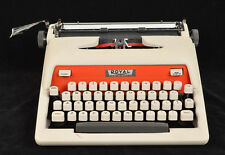 Vintage 1960 Royal Tab-O-Matic Typewriter Two-Tone White & Red Working Beauty