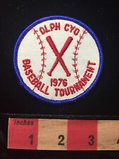 OLPH CYO 1976 Baseball Tournament Patch Selma TX Our Lady Of Perpetual Help C659