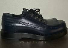 NIB GUCCI $990 GOODYEAR LACE UP LEATHER OXFORDS SHOES SZ US 9 EU 42 ITALY