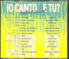 Io Canto E Tu Voglia Di Cantare - 883/Mango/Nek/Battisti/Bertoli Box 2x Cd Nuovo