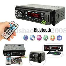 1 DIN Bluetooth Car In-Dash Stereo Audio FM Receiver SD USB AUX MP3 Radio Player