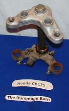 TRIPLE TREE Front Fork CLAMPS ------------- 1970 HONDA CB175 super sport 175cc