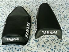 Yamaha YZ50 YZ 50 YZ60 YZ 60 1980 to 1983 Seat Cover Black short nose  (Y23)