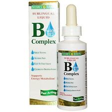 Natures Bounty Vitamin B Complex Liquid Sublingual 2 oz