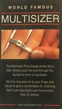 New Ring Size Sizer / Gauge from Funky Jewellery Multisizer Free Postage