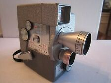 VINTAGE WOLENSAK MODEL 43 MOVIE CAMERA IN THE ORIG CASE IN WORKING CONDITION