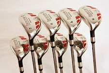 LEFT HANDED i drive ALL TRUE HYBRIDS 3-9 FREE PW COMPLETE LH RESCUE UTILITY SET