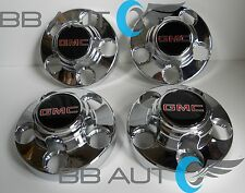 1988-1999 GMC SIERRA 1500 TRUCK YUKON VAN WHEEL CHROME CENTER CAPS HUBS SET