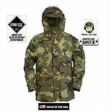US Army ECWCS Cold Wet Weather Parka Jacke woodland Camouflage SR Small Regular