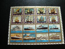 AJMAN STATE - 16 timbres obliteres (bateaux) (Z0) stamp