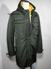 VICTORINOX Swiss Army 3N1 Military M51 Hooded Parka Removable Liner Green sz XL