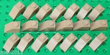Lego Dark Tan Slope 1x2 20 pieces NEW!!!
