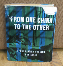 Henri Cartier Bresson From One China to the Other Gravure Photographs HC DJ 1956