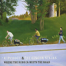 Kipchoge and the Ginger Ninjas-Where the Rubber Meets the Road  CD NEW