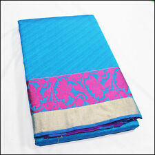 Pure Silk Cotton Saree, Kota Cotton and Silk Sari with Jari KO29