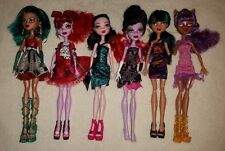 Lot of 6 Monster High Dolls