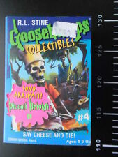 R.L. Stine Goosebumps Collectibles Curly SAY CHEESE AND DIE