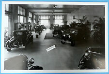 """12 By 18"""" Black & White Picture 1930 1931 Ford Dealer Showroom w/Several Models"""