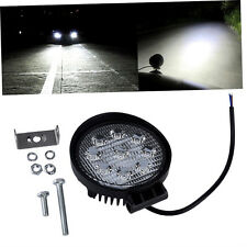 27W 12V 24V Spot Led Work Light Lamp Bar Boat Tractor Truck Off-road SUV UL