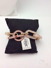 New Michael Kors Rose Gold-Tone Cityscape Chains Bracelet MKJ5109791 $165