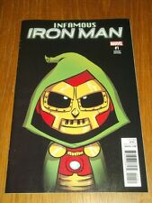 IRON MAN INFAMOUS #1 MARVEL COMICS VARIANT