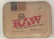 "RAW Brand Metal Cigarette Rolling Tray XXL 20"" X 15"" NEW"