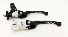 ASV Unbreakable F3 Black Pair Pack Folding Brake + Clutch Levers Banshee YFZ