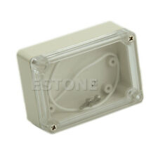 Waterproof Plastic 85x58x33mm Electronic Clear Cover Project Box Enclosure CASE