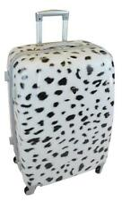 """PC6820 28"""" SNOW LEOPARD Fr PC ABS HARDSIDE SPINNER SUITCASE BAG LUGGAGE"""