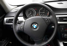 BMW E90 E91 KIT COATING STEERING WHEEL COVER REAL LEATHER FROM REPLACE A