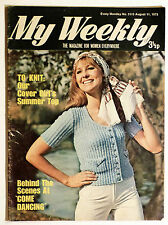 Vintage My Weekly Magazine August 1973: Please See Pictures for Content.