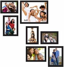 Photo Frame With 7 Photo Collages in Black Color Frame,Memories Gift,BEST PRICE