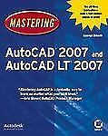 Mastering AutoCAD 2007 and AutoCAD LT 2007, George Omura, Good Condition, Book