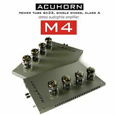 Acuhorn M4 OTL Power Amplifier Tube 6C33C Single Ended Triode Class A Hi-Tech