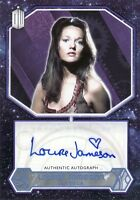 Topps 2015 Doctor Who Louise Jameson as Leela Blue Parallel Auto Card 04/50