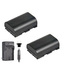 2x Extra Battery for LP-E6 and Charger Canon 5D Mark III Mark IV