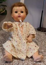 "Old American Character Tiny Tears 15"" Rubber & Vinyl Baby Doll"