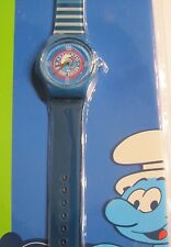 Authentic Smurf Sailer * Kinder Quarz Uhr *  Motiv Schlumpf * Neu OVP