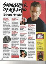 ETHAN HAWKE 'likes' UK ARTICLE / clipping