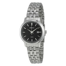 Seiko Blue Dial Stainless Steel Ladies Watch SUR829