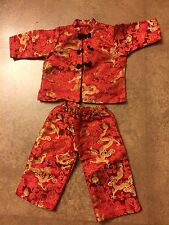 American Girl Doll Chinese New Year Outfit - Pants & Top - Pleasant Company Ivy