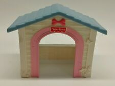 Fisher Price LOVING FAMILY DOLLHOUSE Doll House OUTDOOR DOGHOUSE DOG Blue Roof
