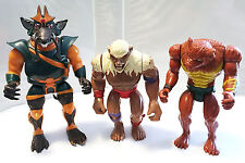 MUTANTS LOT PLUS FREE FIGURE • VINTAGE LJN THUNDERCATS